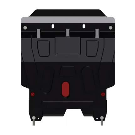 Защита картера и КПП Chevrolet Lacetti, Шевроле Лачети V-1,4 1,6 1,8, 2004-2013, штампован