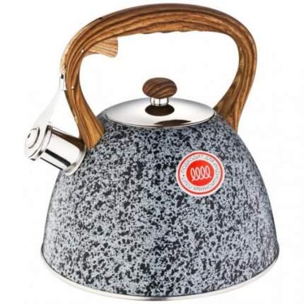 Чайник AGNESS, 3,0 л, со свистком