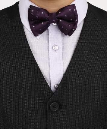 Галстук-бабочка для мальчиков Button Blue, цв. фиолетовый