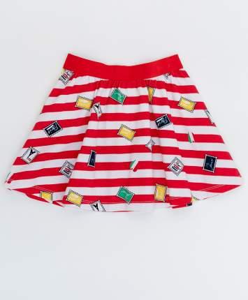 Юбка для девочек Button Blue, цв. розовый, р-р 98