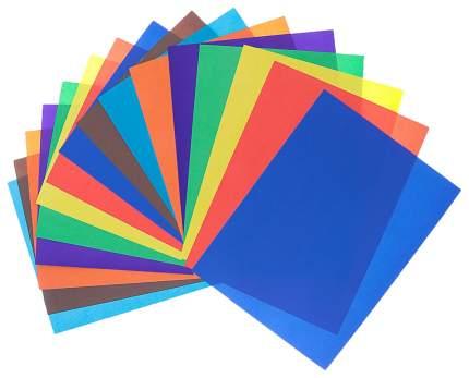 Бумага цветная ArtBerry Индеец, двусторонняя в папке А4, 16 листов, 8 цветов, игрушка-набо