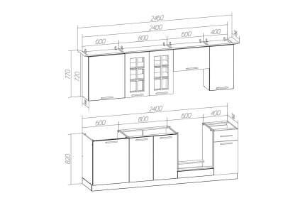 Кухонный гарнитур Hoff Белла