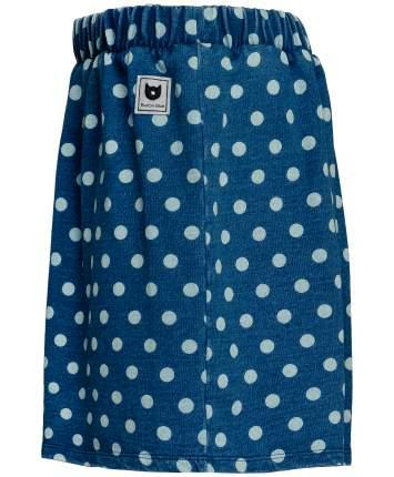 Юбка для девочек Button Blue, цв. синий, р-р 104