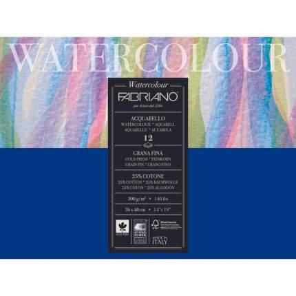 """Блокнот-склейка для акварели """"Watercolour"""", 36х48 см, 20 листов"""