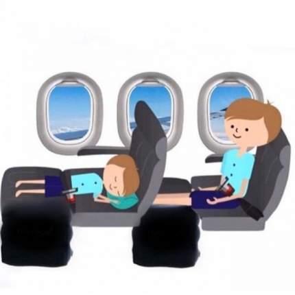 Подушка-кроватка с сумкой-чехлом и пеленочкой