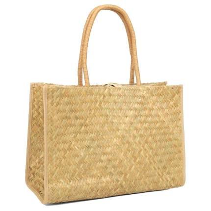 Пляжная сумка FABRETTI KB22 бежевая