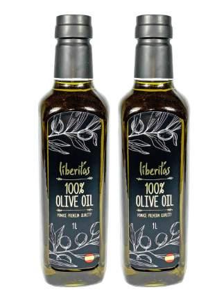 Масло Liberitas Pomace оливковое рафинированное 2*1000 мл