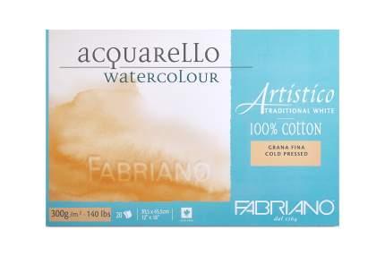 "Блок для акварели ""Artistico Traditional White"", фин, 30,5x45,5 см, 20 листов"