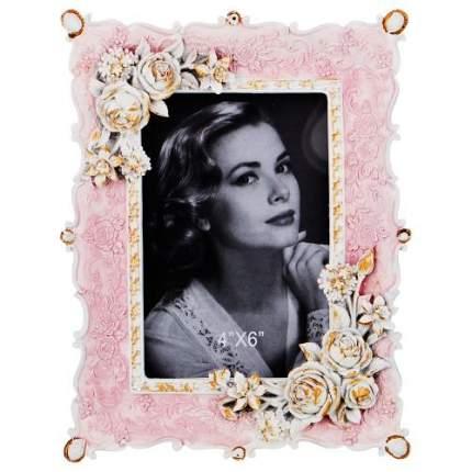 Рамка для фотографий Lefard, 22х17 см, розовый, с цветами