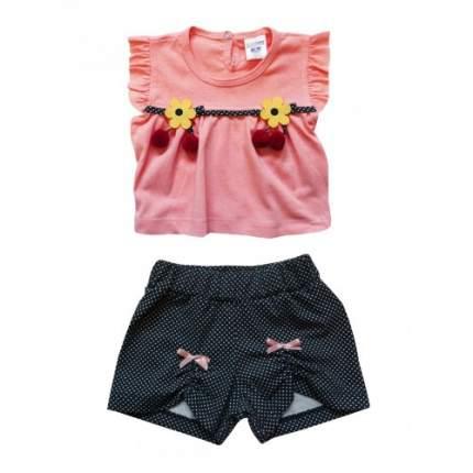 Комплект для девочек BABY BOSS, цв. розовый, р-р 80
