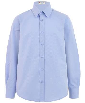 Рубашка для мальчиков Button Blue, цв. голубой, р-р 122