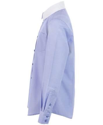 Рубашка для мальчиков Button Blue, цв. голубой, р-р 140