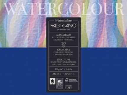 """Альбом для акварели """"Watercolour Studio"""", 30x40 см, 20 листов, 300 г/м2, среднее зерно"""