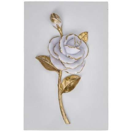 Панно декоративное Lefard, 14х2х21 см, роза