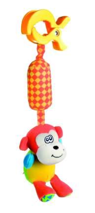 Игрушка мягкая подвесная с погремушкой Canpol арт. 68/009, 0+, форма: обезьянка
