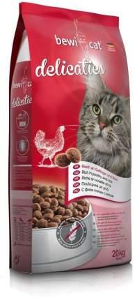 Сухой корм для кошек Bewi Cat delicaties, с курицей, 20кг