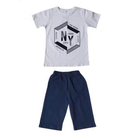 Комплект для мальчиков DIFA, цв. белый, р-р 146