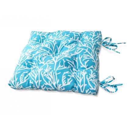 Подушка на стул Corals - S Цвет: Небесно-Голубой (50х50)