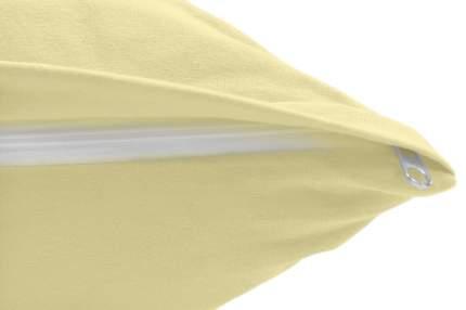 Наволочки трикотаж Ol-tex 50х70 2 шт светло-желтый