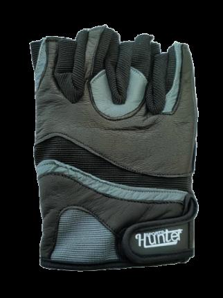 Перчатки для фитнеса и атлетики Hunter Sports HS-2015-A, черные, L