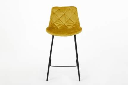 Полубарный стул Hoff Trast 80333928, черный/горчичный