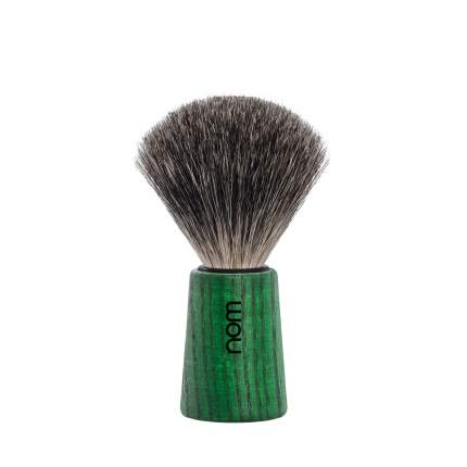 Помазок натуральный барсучий ворс Muehle Nom Theo (зеленый ясень)