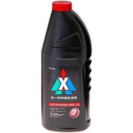 Антифриз X-FREEZE красный готовый антифриз 1л