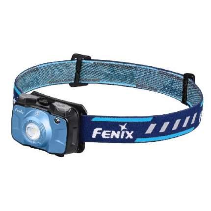 Туристический фонарь Fenix HL30 2018, синий, 8 режимов