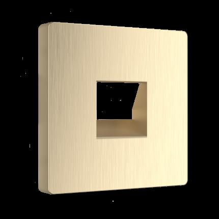 Накладка для телефонной розетки Werkel WL10-RJ-11-CP
