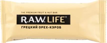 Орехово-фруктовый батончик R.A.W. LIFE грецкий орех-кэроб 47 г