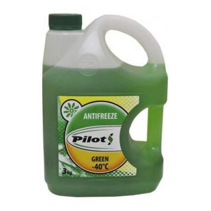 Антифриз PILOTS зеленый готовый антифриз -40 3л 3223