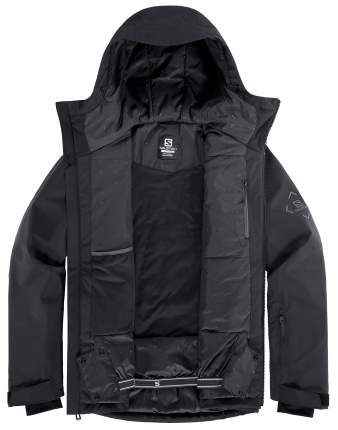 Куртка Горнолыжная Salomon 2020-21 Highland M Black/Ebony (Us:m)