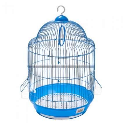 Клетка для птиц KREDO круглая с фигурной крышей, в ассортименте, 34 х 34 х 54 см