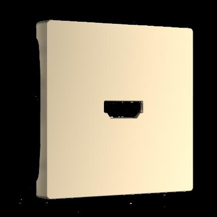Накладка для розетки Werkel WL11-HDMI-CP