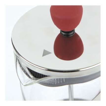 Френч-пресс 0,8 л Crystal Red Rondell RDS-936