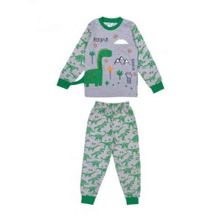 Пижама для мальчиков Bonito kids, цв. меланжевый, р-р 98