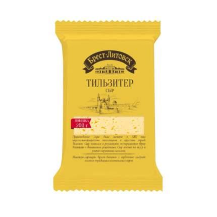 Сыр брест-литовск тильзитер полутвердый 45% 200 г