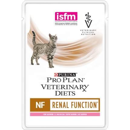 Влажный корм для кошек Pro Plan Veterinary diets NF при патологии почек, лосось, 10шт, 85г