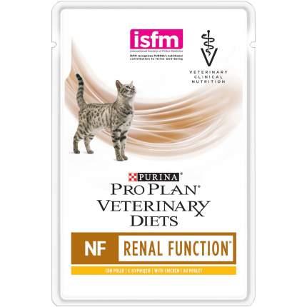 Влажный корм для кошек Pro Plan Veterinary Diets NF Renal Function, курица, 10шт, 85г