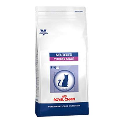 Сухой корм для котов ROYAL CANIN Neutered Young Male, для кастрированных до 7 лет, 1,5кг