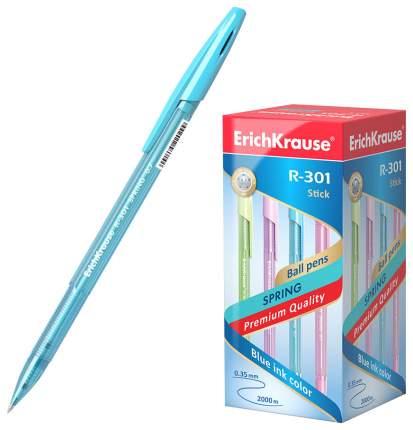 Ручка шариковая ErichKrause® R-301 Spring Stick 0.7, цвет чернил синий