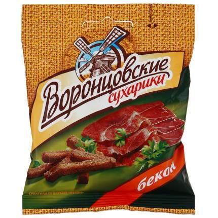Сухарики Воронцовские ржано-пшеничные Бекон 40 г