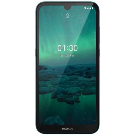 Смартфон Nokia 1.3 16GB Cyan (TA-1205)