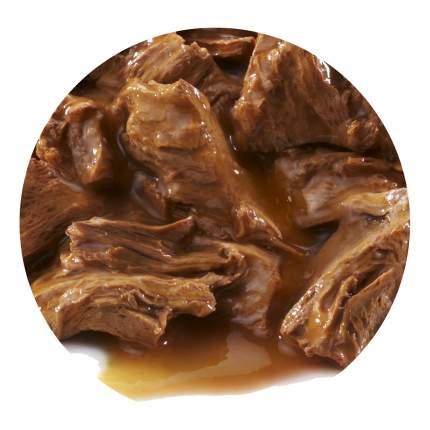 Влажный корм для кошек PRO PLAN Nutri Savour Sterilised, говядина, 24шт, 85г