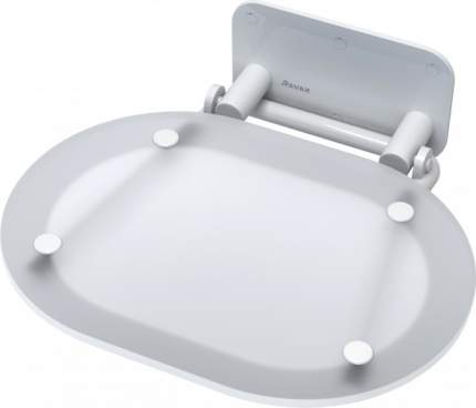 Унивеpсальное сиденье для душа CHROME CLEAR/WHITE