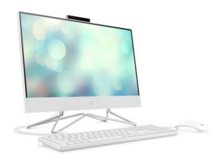Моноблок HP 22-df0048ur (14P77EA) White