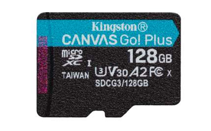 Карта памяти Kingston 128GB Canvas Go! Plus 170R (SDCG3/128GBSP)