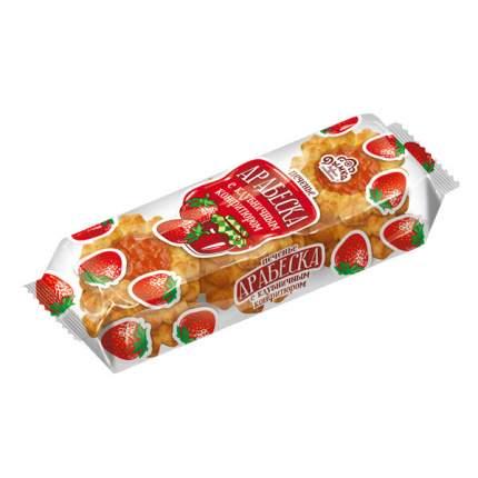 Печенье дымка арабеска с клубничным конфитюром 200 г п/п кондитерская фабрика россия
