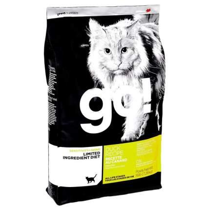 Сухой корм для кошек и котят GO! SENSITIVITY + SHINE, утка, 7,26кг