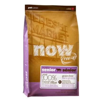 Сухой корм для кошек NOW Fresh Senior, для пожилых, индейка, утка, 7,26кг